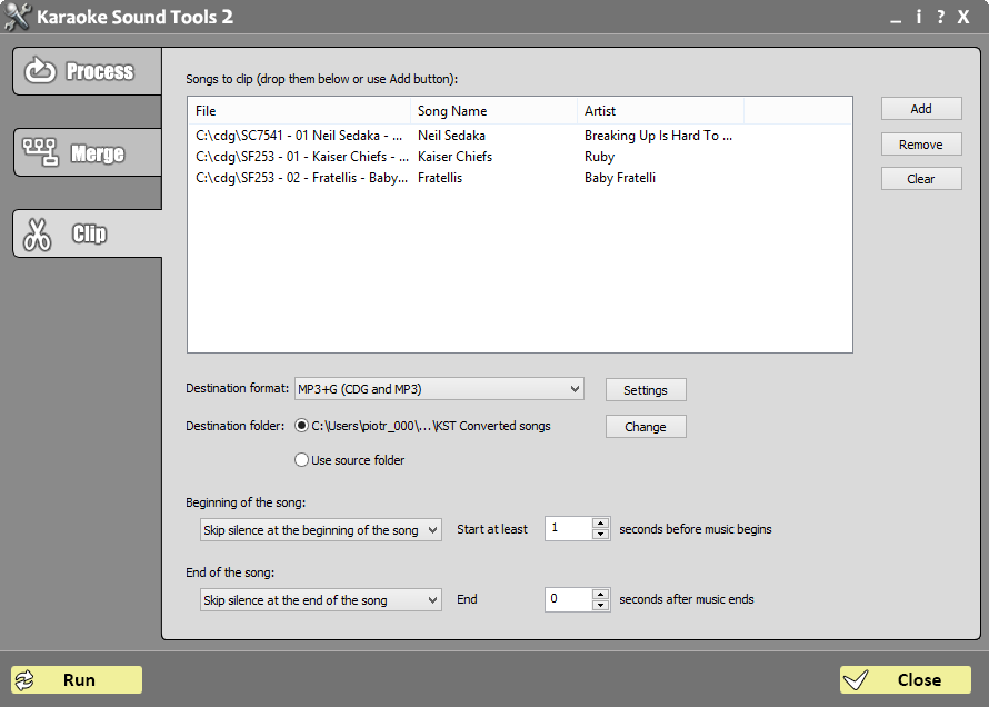 Karaoke Sound Tools screenshot